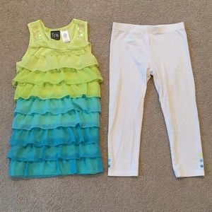 Pogo Club Matching Sets - Girls Ombré Two-Piece Outfit